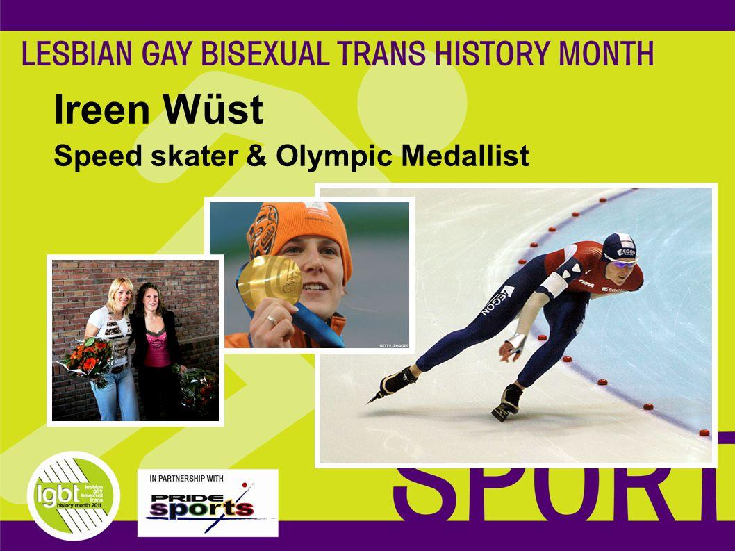 Ireen Wüst Speed skater & Olympic Medallist