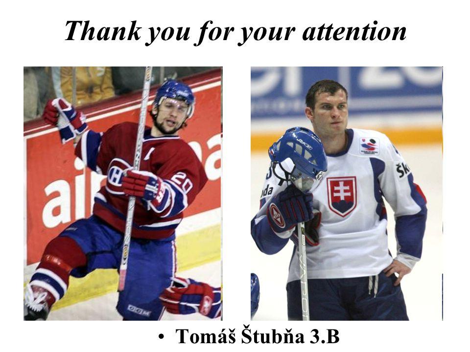 Thank you for your attention Tomáš Štubňa 3.B