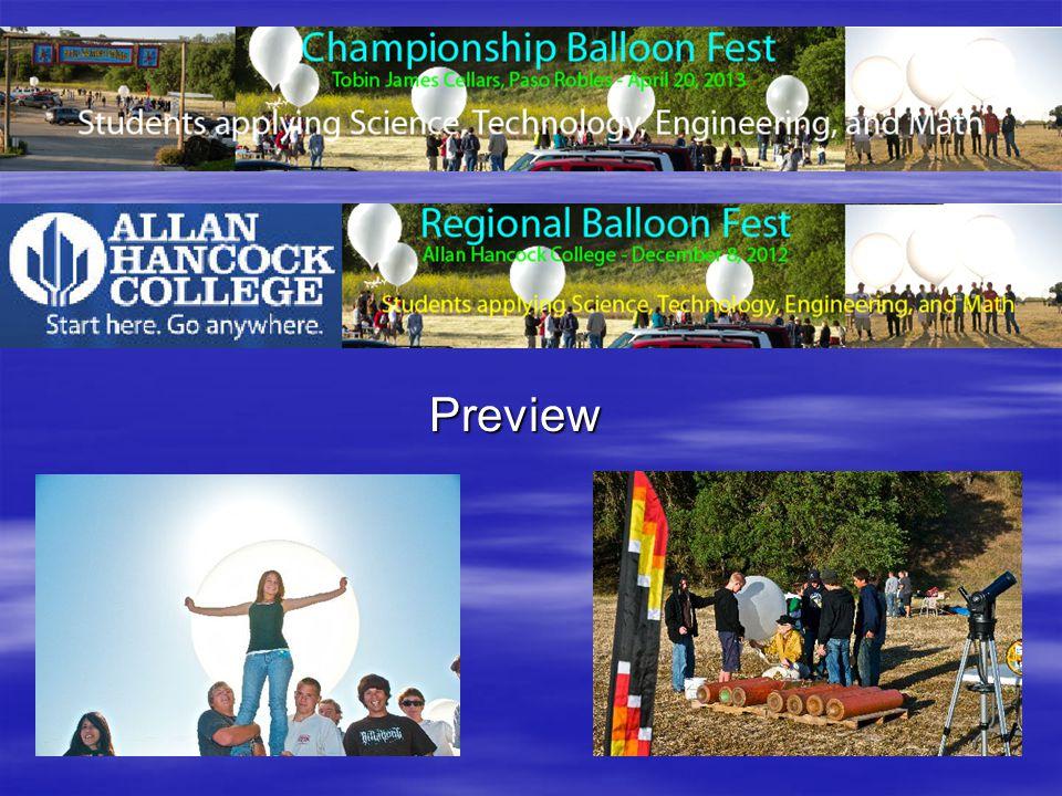 Balloon Fest Lots of fun.Lots of fun. Learn real science.