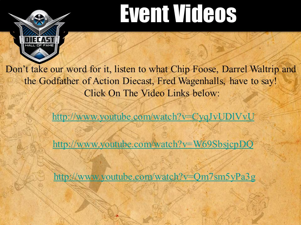 Event Videos.
