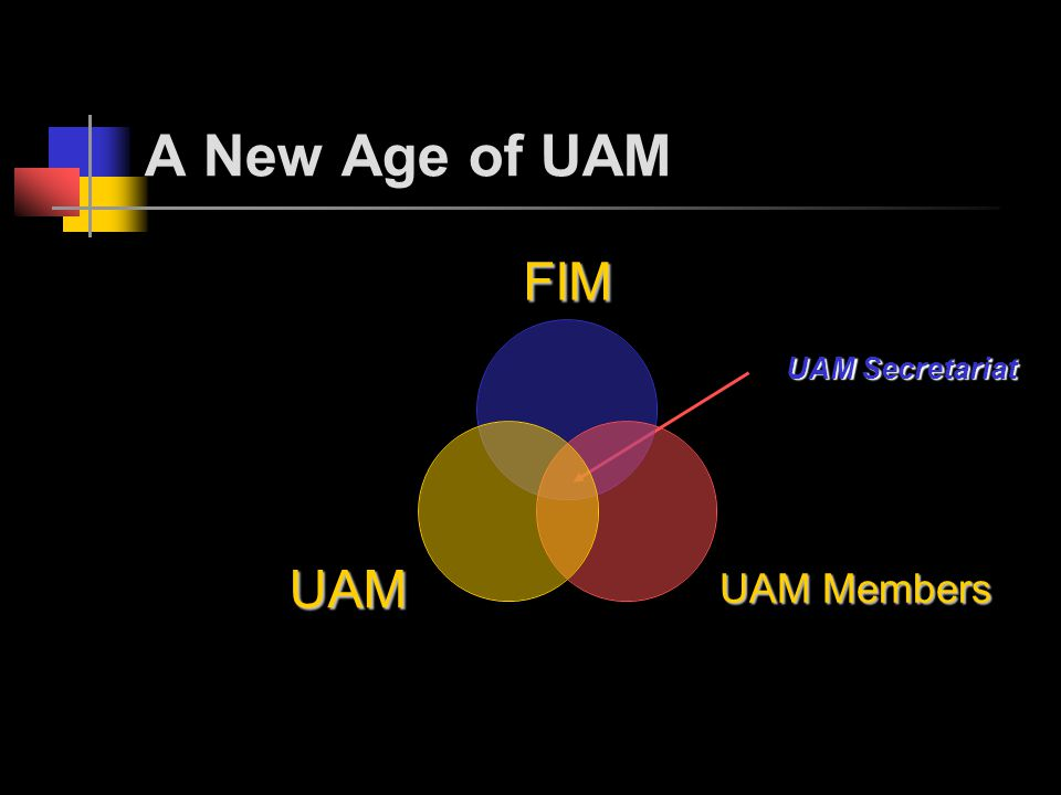 UAM Secretariat A New Age of UAM FIM UAM Members UAM