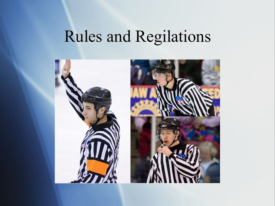 Rules and Regilations