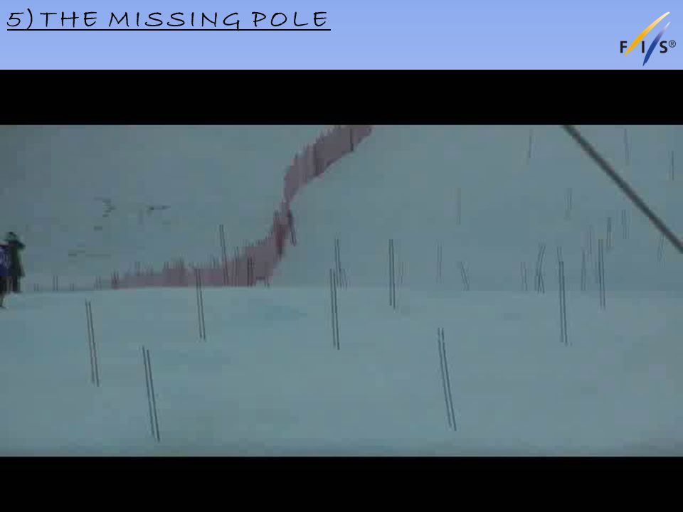 5)THE MISSING POLE Alpine Technical Delegates Update 2012