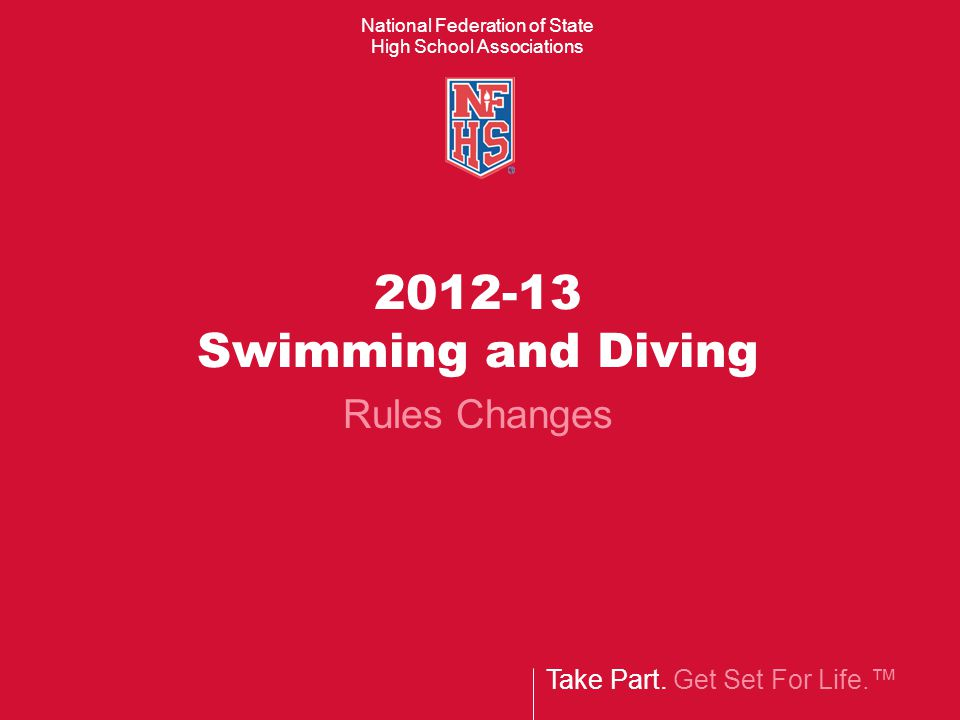 Managing Diving Competition Rule 9-2-2 In championship meets or meets conducted under championship format, the order of divers, as determined by the meet director, shall be by: Lot OR Seeding based on divers best competitive 11 dive score Should the meet director take no action the default method for determining the order of diving shall be by lot