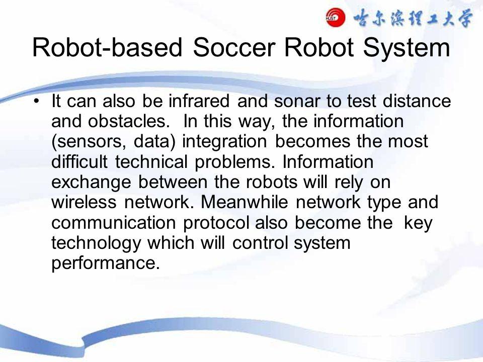 Vision-based Remote Brainless Soccer Robot System