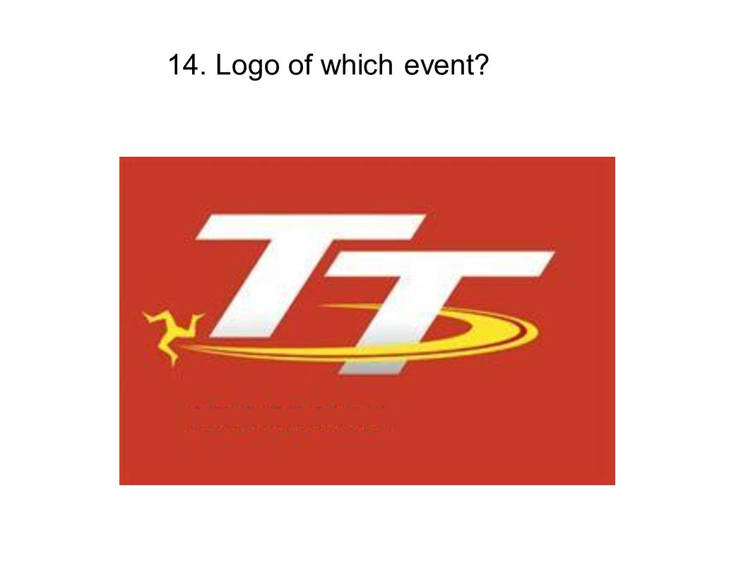 14. Logo of which event
