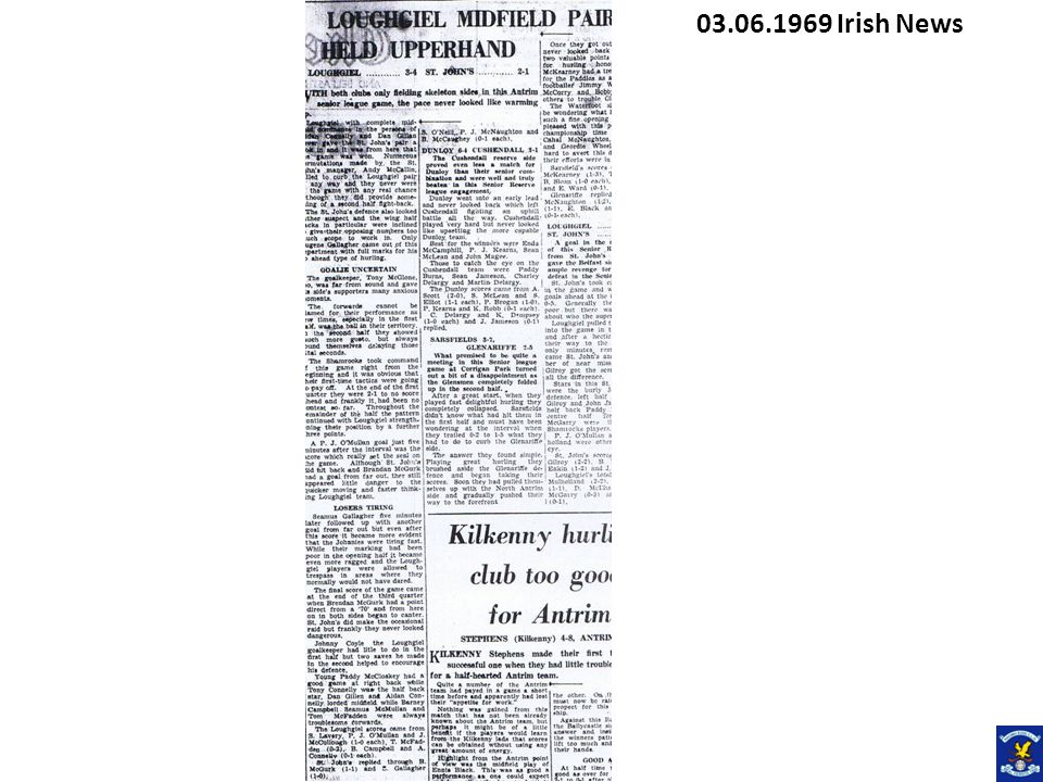 26.05.1969 Irish News