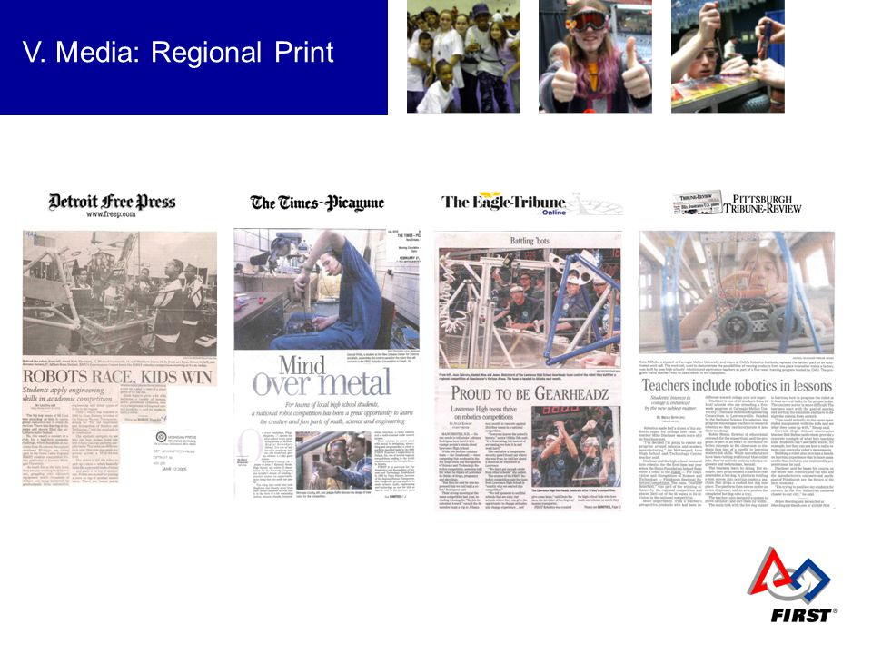 V. Media: Regional Print