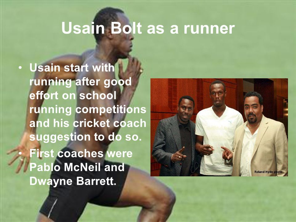 Bolt won his first silver medal in annual high school championships in 2001 in the 200 meters, with a time of 22.04 s.