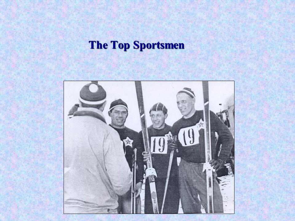 The Top Sportsmen