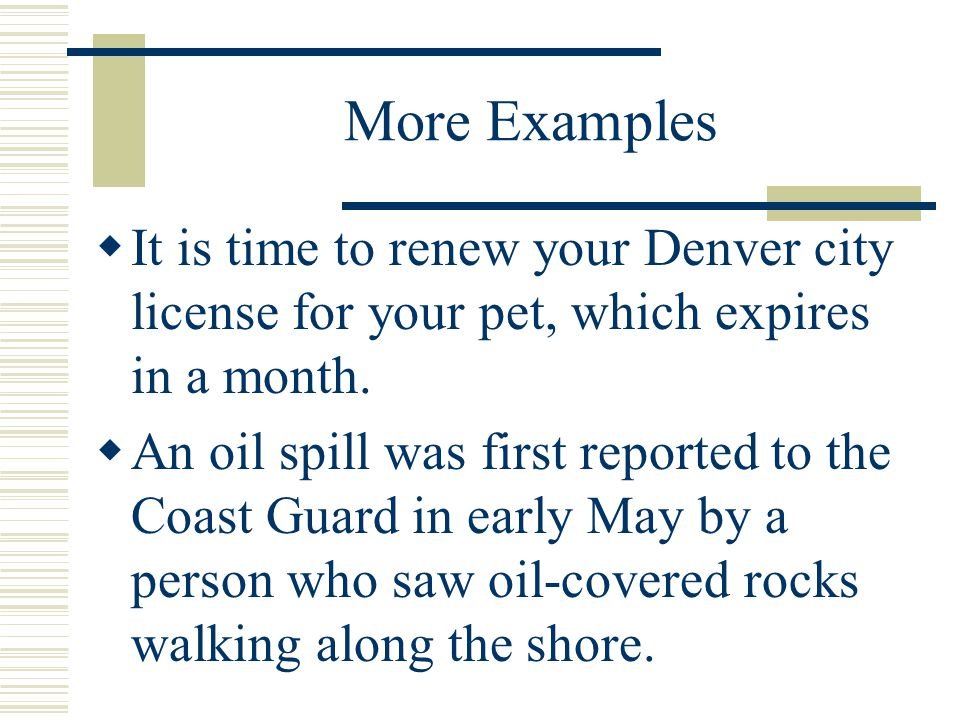 Misplaced Modifiers…Practice Correct the following sentence: We saw many bears driving through Yellowstone Park.