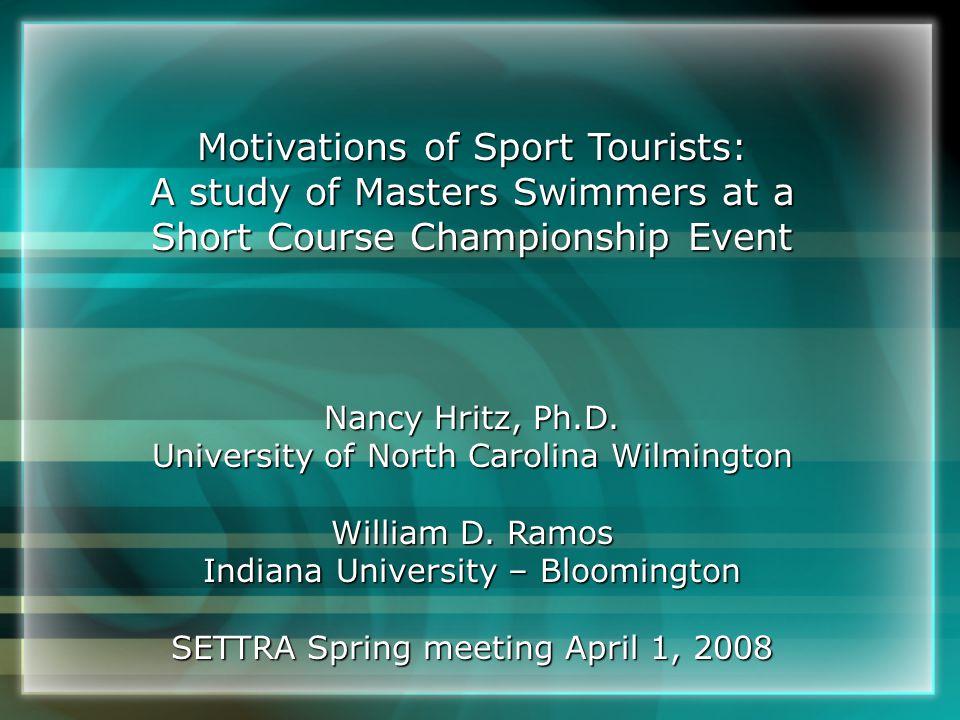 Nancy Hritz, Ph.D. University of North Carolina Wilmington William D.