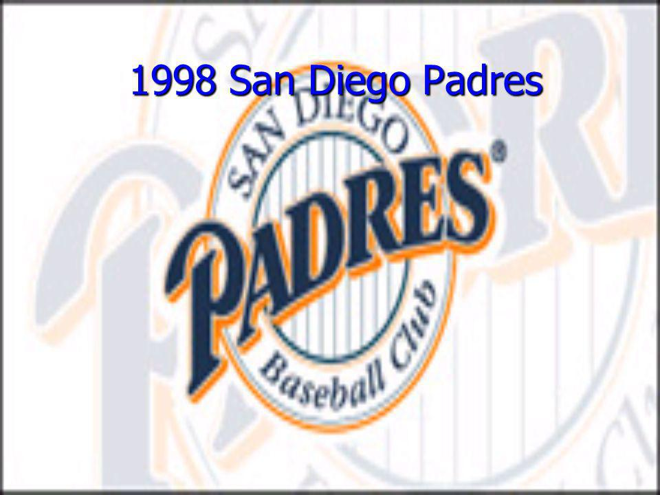 1998 San Diego Padres