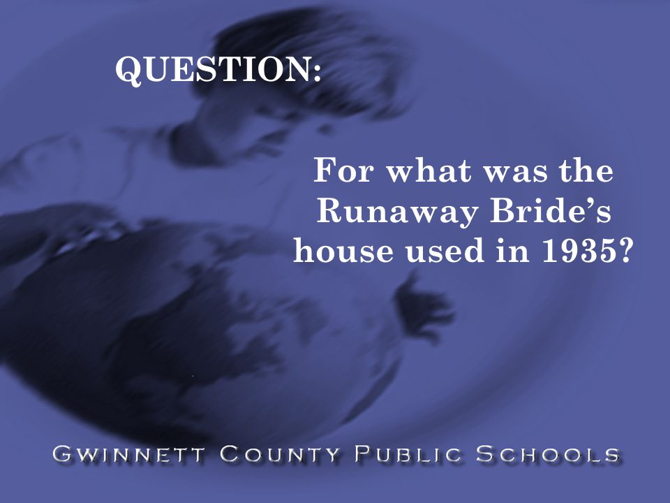 HINT: Cotton was king!