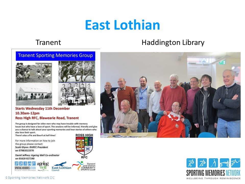 East Lothian Tranent Haddington Library © Sporting Memories Network CIC
