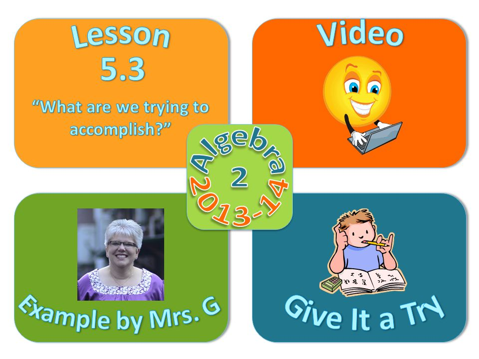 Objective Video Example by Mrs.
