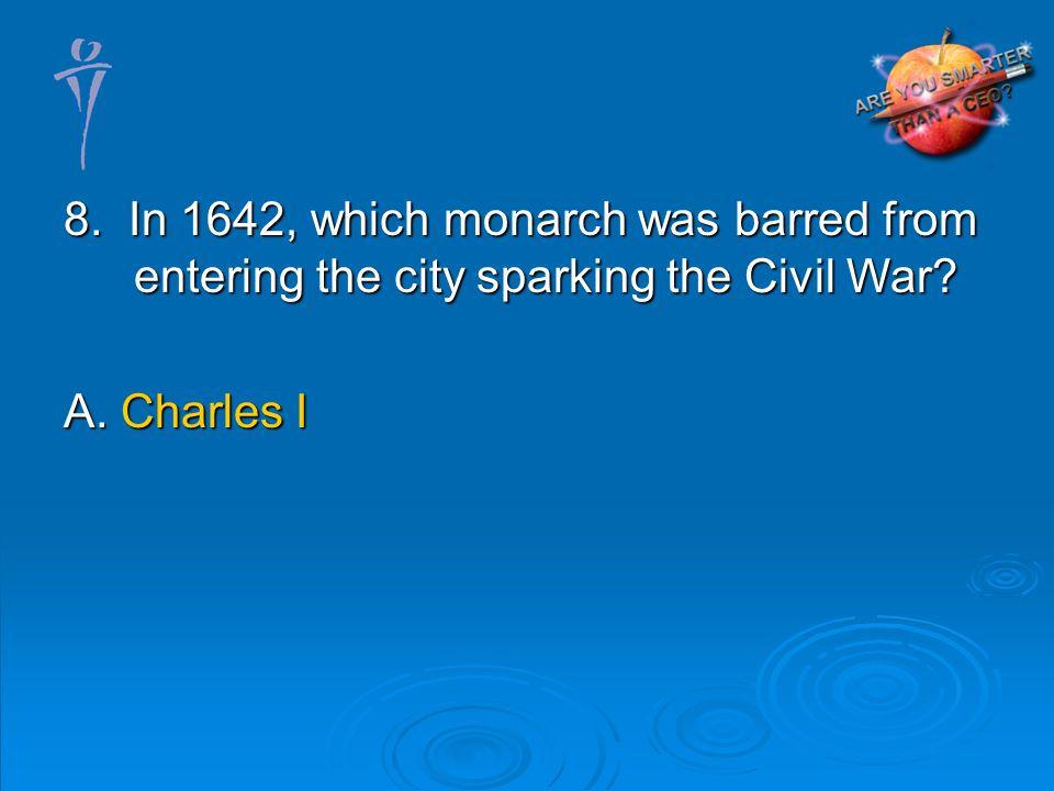 A. Charles I