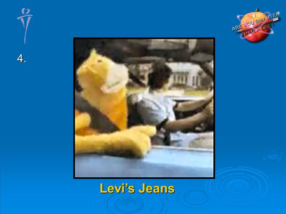 4. Levis Jeans