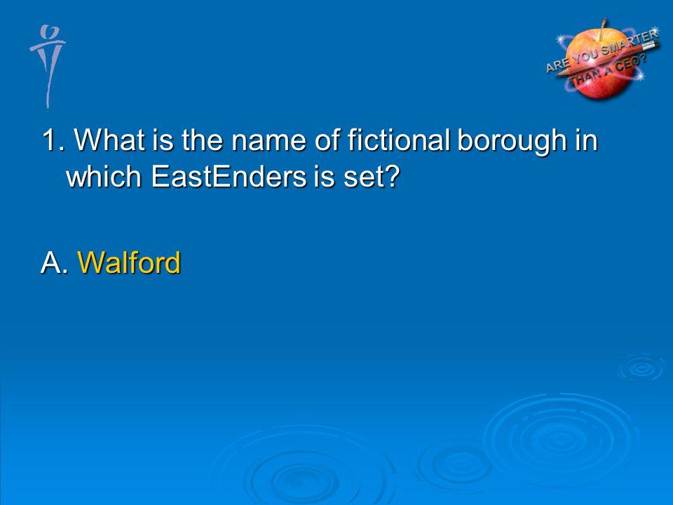 A. Walford