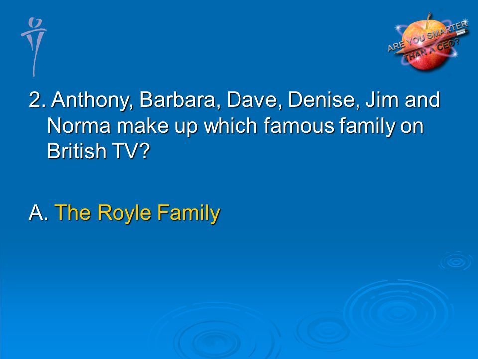 A. The Royle Family