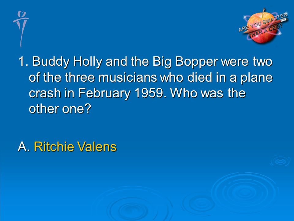A. Ritchie Valens