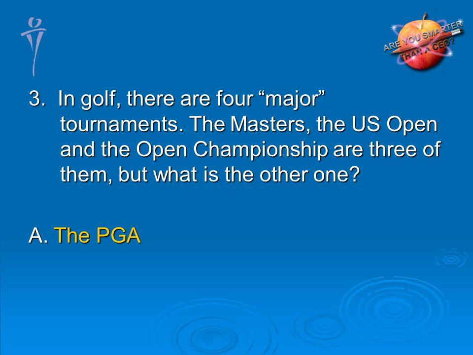 A. The PGA