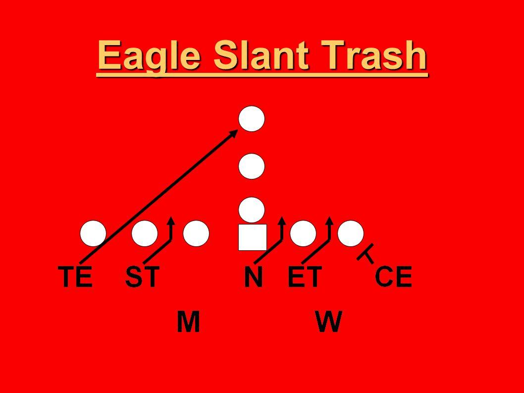 Eagle Slant Trash