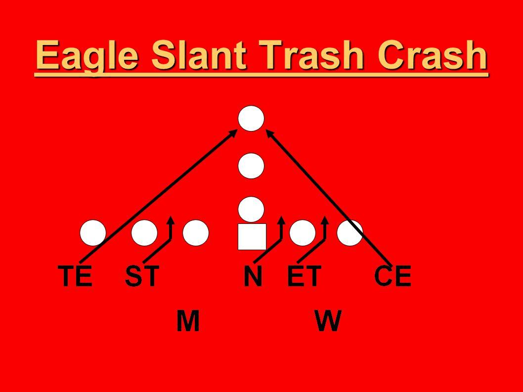 Eagle Slant Trash Crash