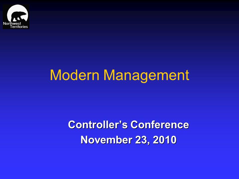 Modern Management Controllers Conference November 23, 2010