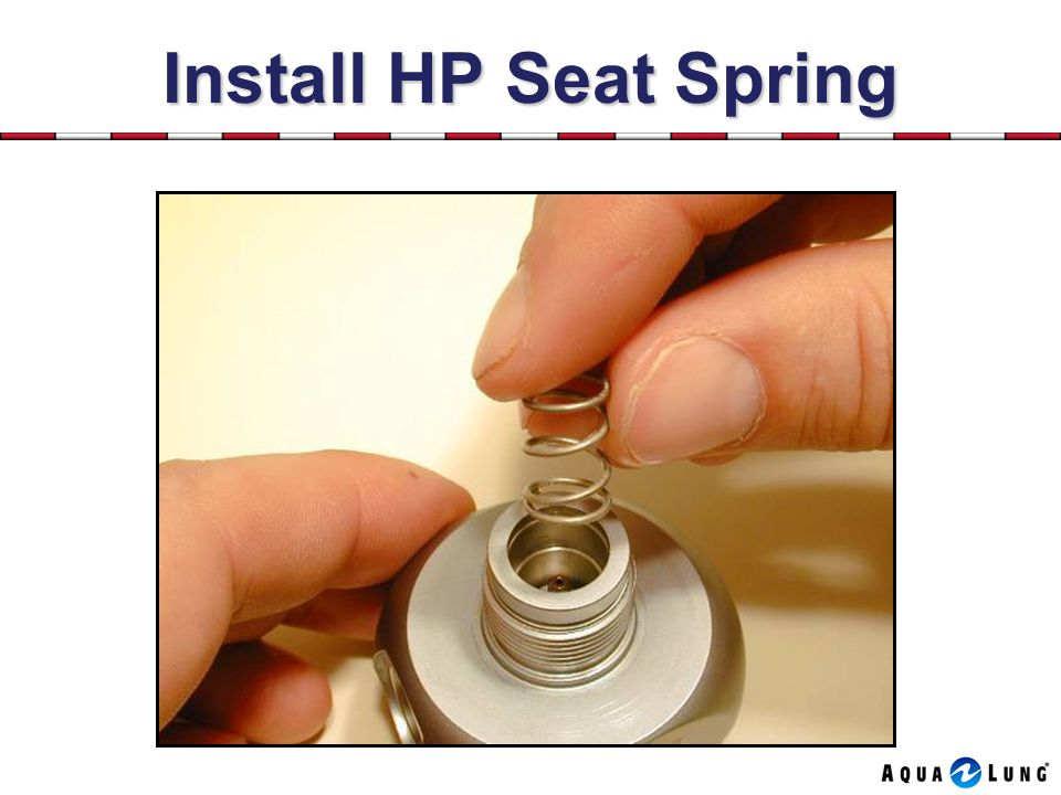 Install HP Seat Spring