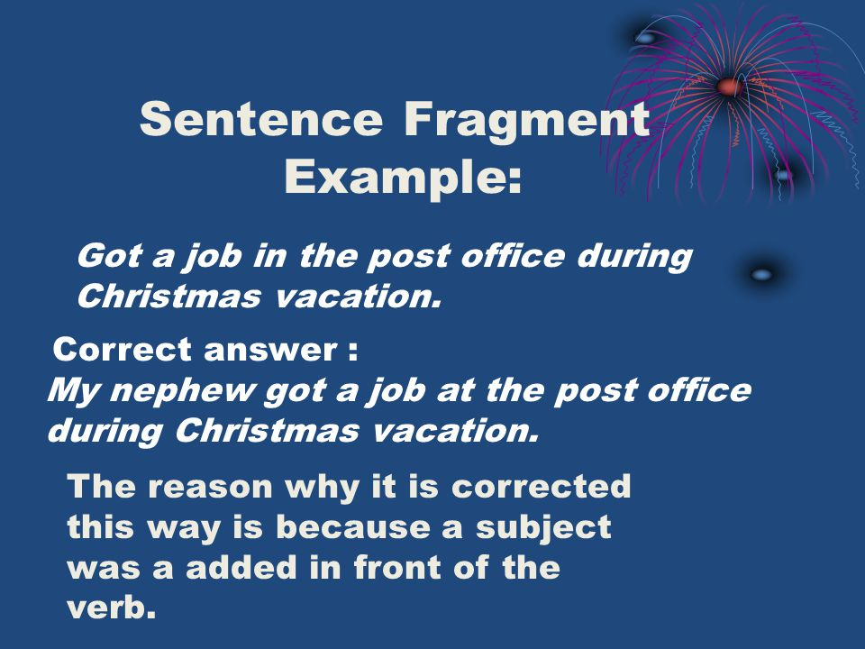 Independent Clause!
