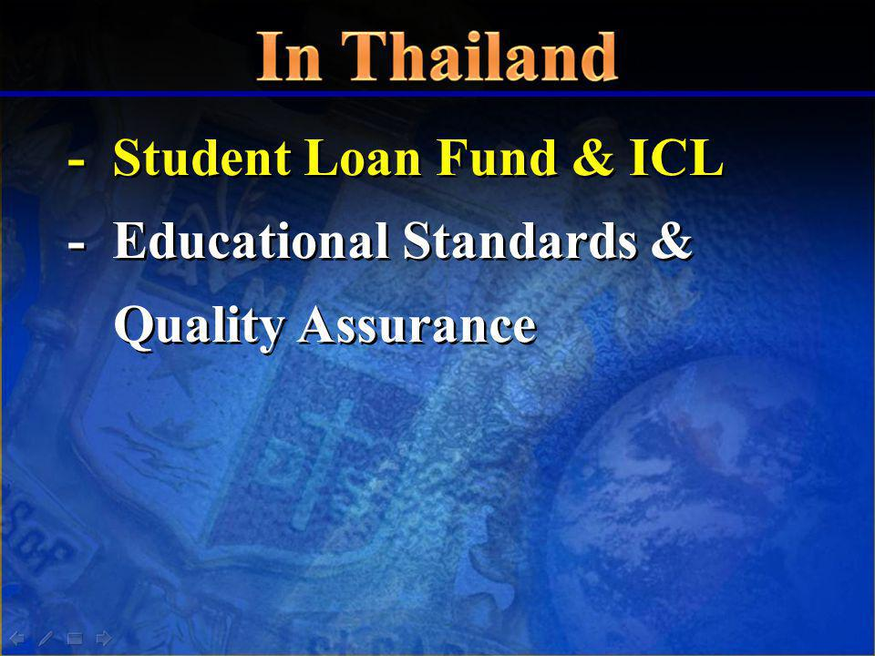- Student Loan Fund & ICL - Educational Standards & Quality Assurance - Student Loan Fund & ICL - Educational Standards & Quality Assurance