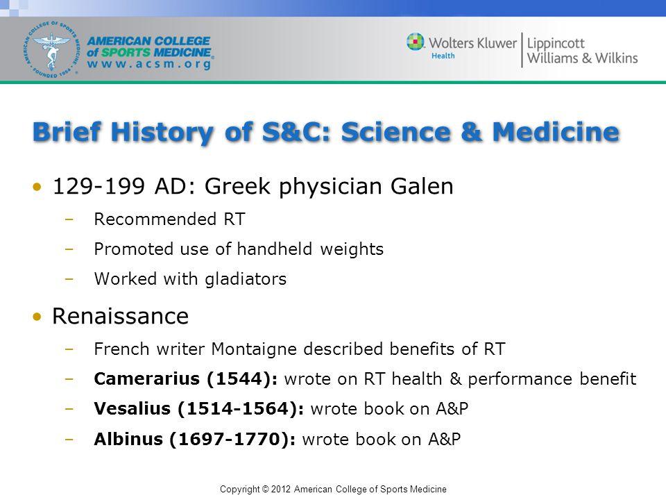 Copyright © 2012 American College of Sports Medicine Naim Suleymanoglu