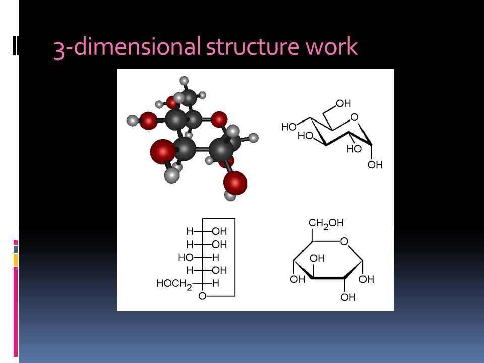 3-dimensional structure work