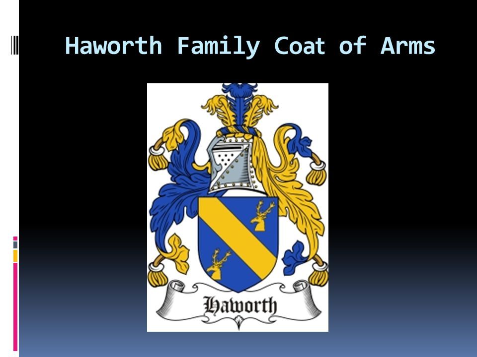 Haworth Family Coat of Arms