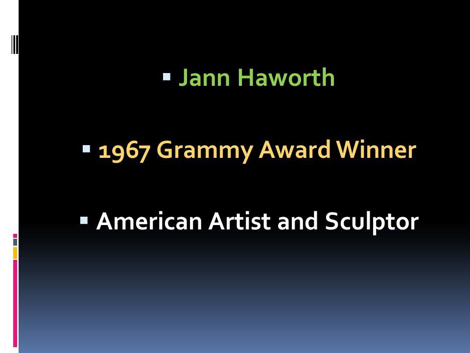 Jann Haworth 1967 Grammy Award Winner American Artist and Sculptor