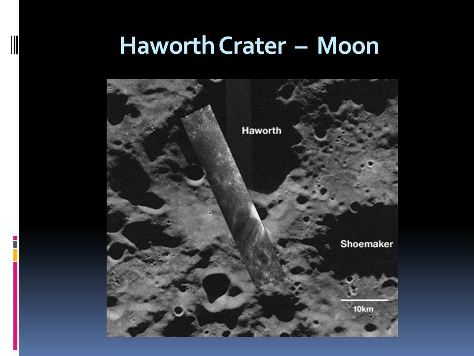 Haworth Crater – Moon