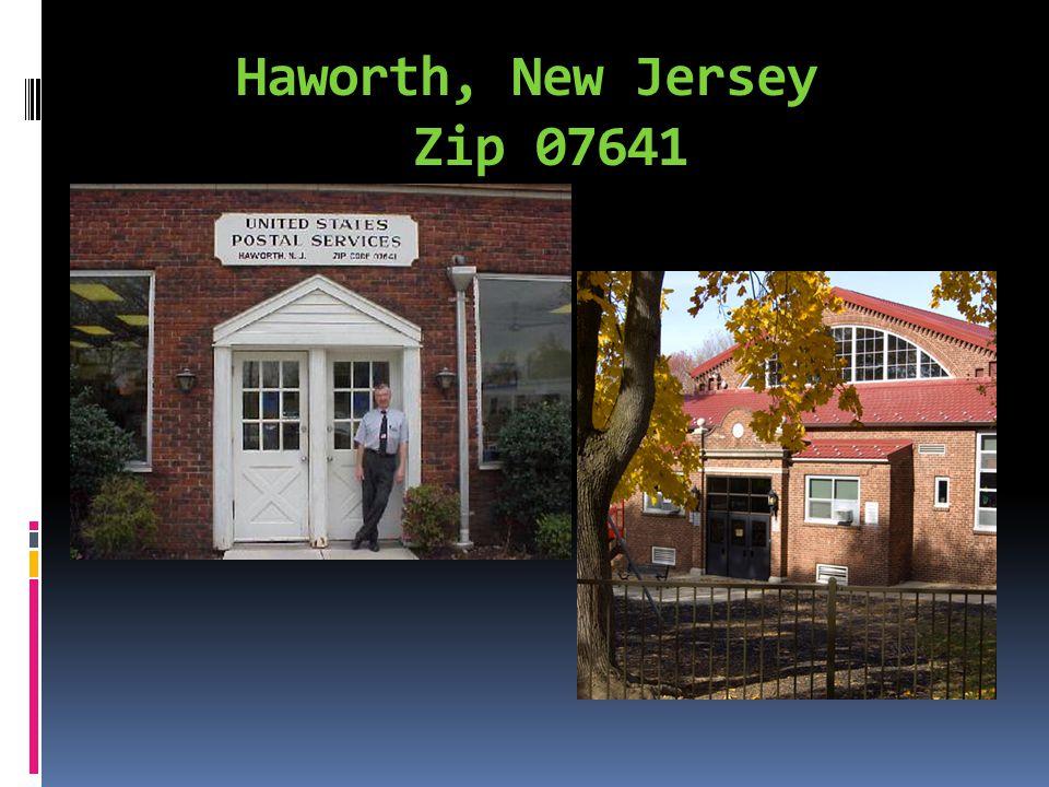Haworth, New Jersey Zip 07641