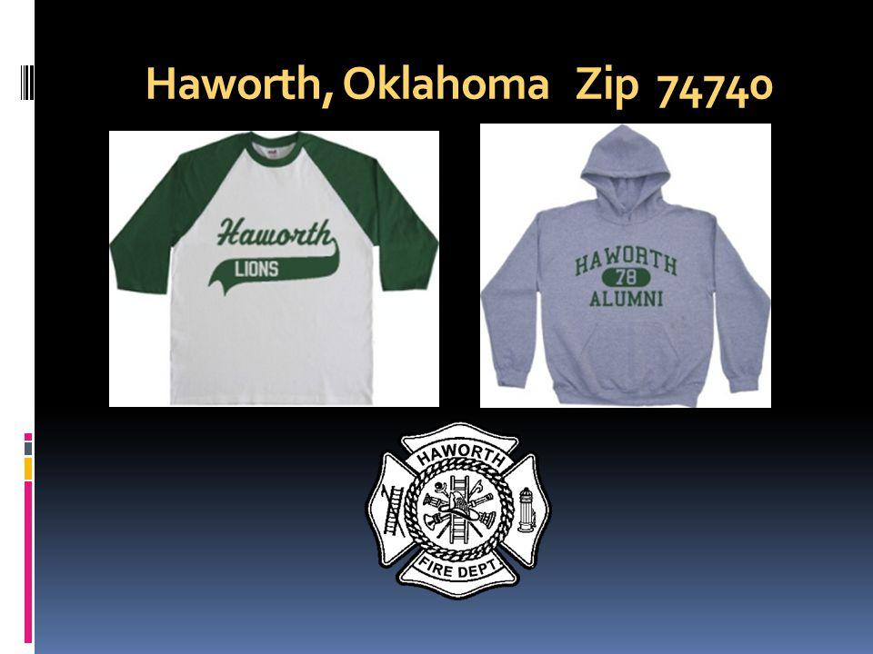 Haworth, Oklahoma Zip 74740