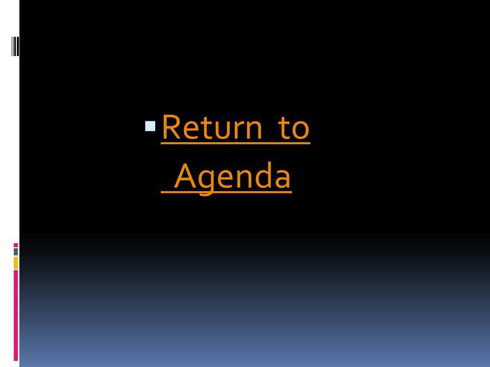 Return to Agenda