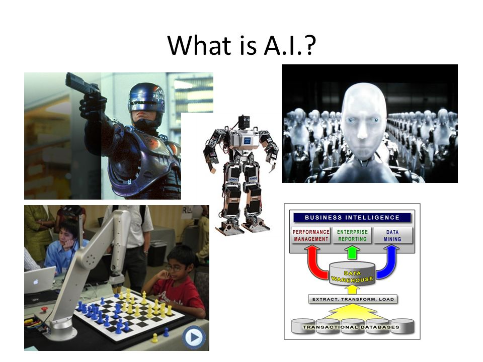 What is A.I.?