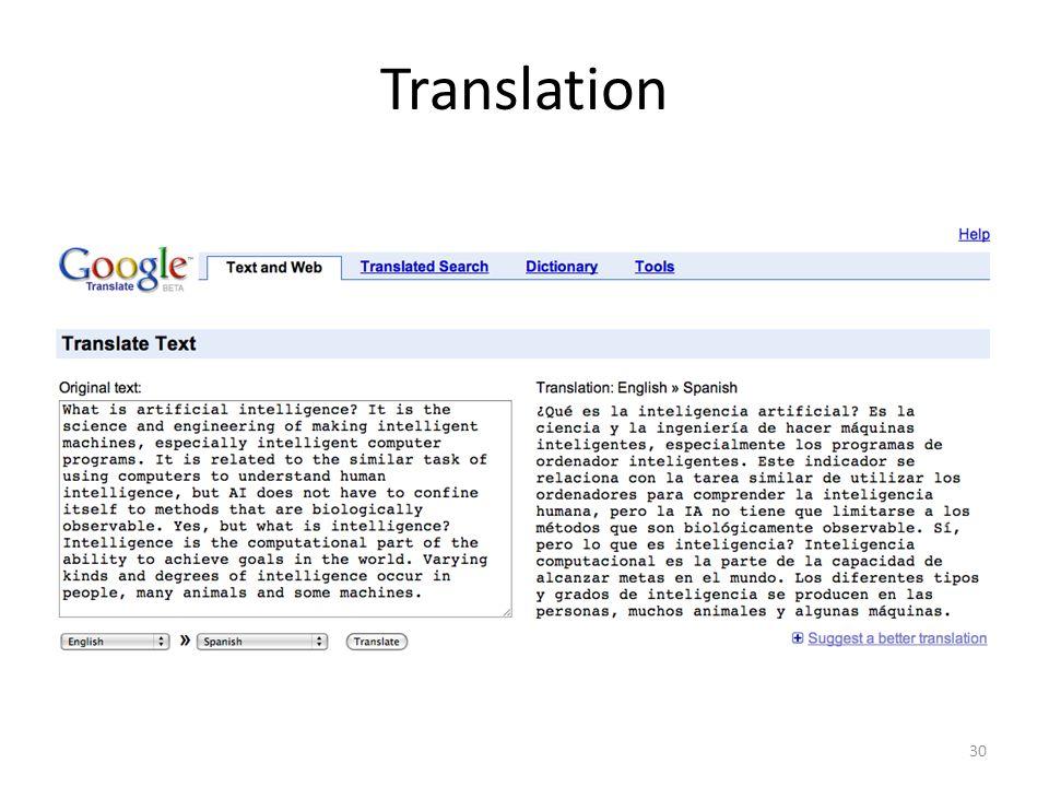 30 Translation