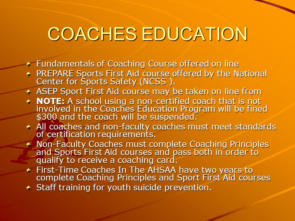 AHSAA RULES Joe Evans