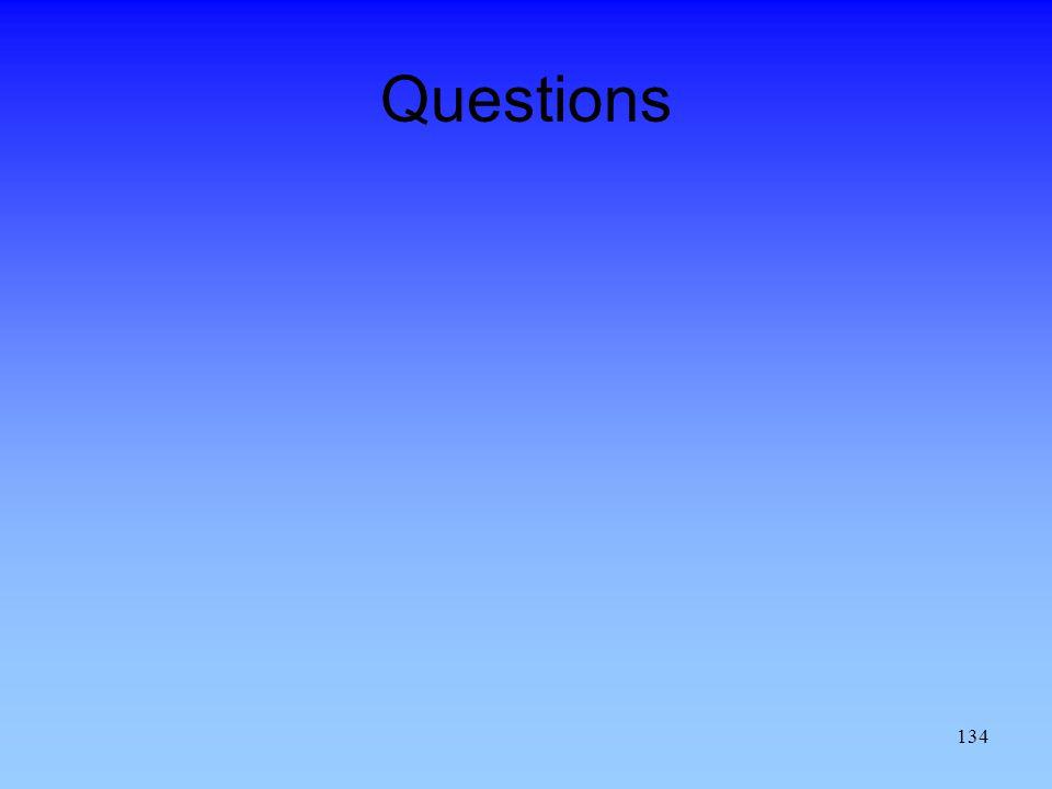 134 Questions