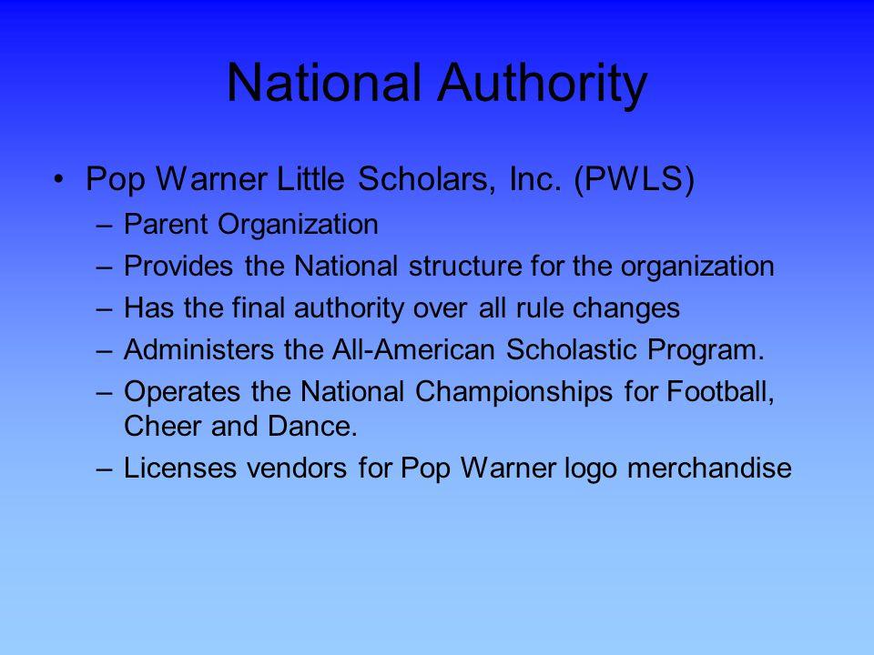 National Authority Pop Warner Little Scholars, Inc.