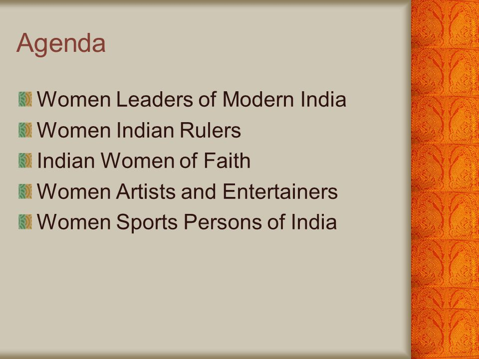 Famous Women of India By