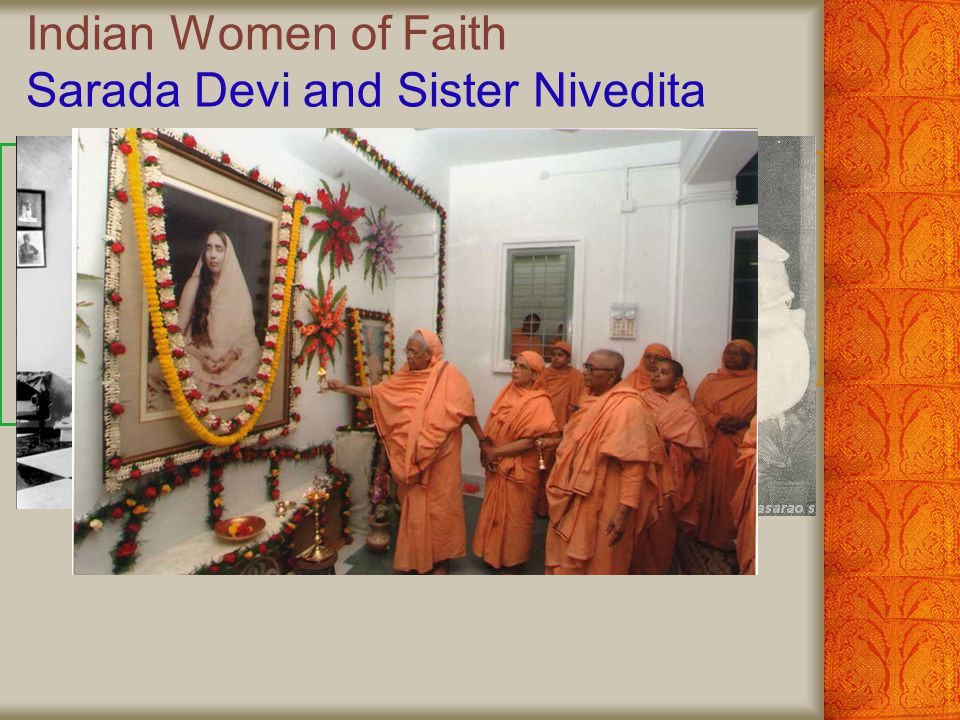 Indian Women of Faith Mother Teressa Mother Teressa: Champion of Poors Founded the Missionaries of Charity in Calcutta Received the Nobel Peace Prize