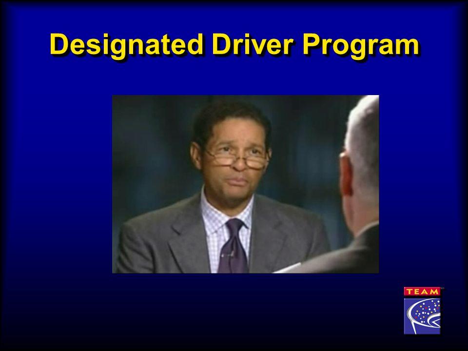 Designated Driver Program