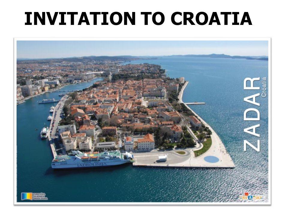 INVITATION TO CROATIA