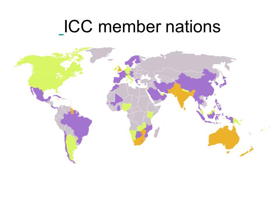 ICC member nations